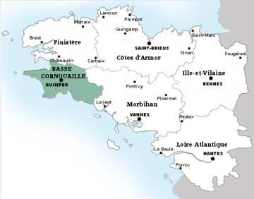 Carte de Penmarch