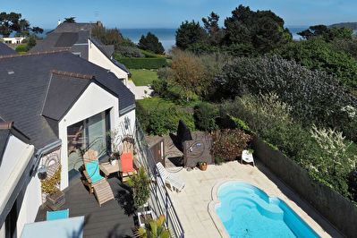 TEXT_PHOTO 1 - A vendre belle contemporaine vue mer Binic Côtes d'Armor