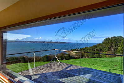 TEXT_PHOTO 0 - For sale property with dominant sea view Pink granite coast Brittany